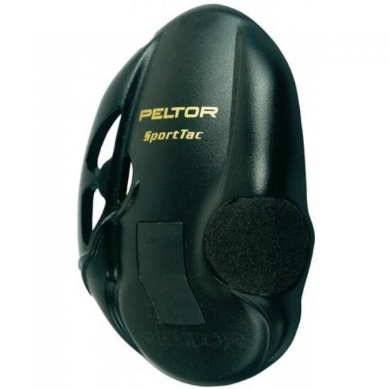 3M™ Peltor™ Kit pre výmenu krytov mušlí (čierna) pre SportTac, 1 sada