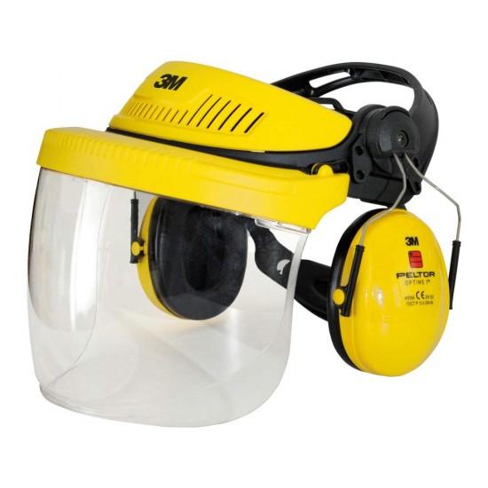 Chránič obličeje 3M G500, žlutá