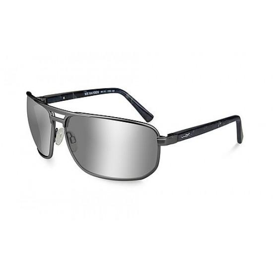 slnečné okuliare HAYDEN Polarized Silver Flash Smoke Grey/Matte Dark Gunmetal