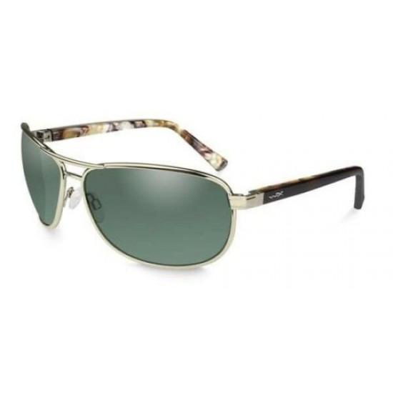 slnečné okuliare KLEIN Polarized Smoke Green/Gold