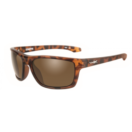 slnečné okuliare KINGPIN Brown/Matte Demi