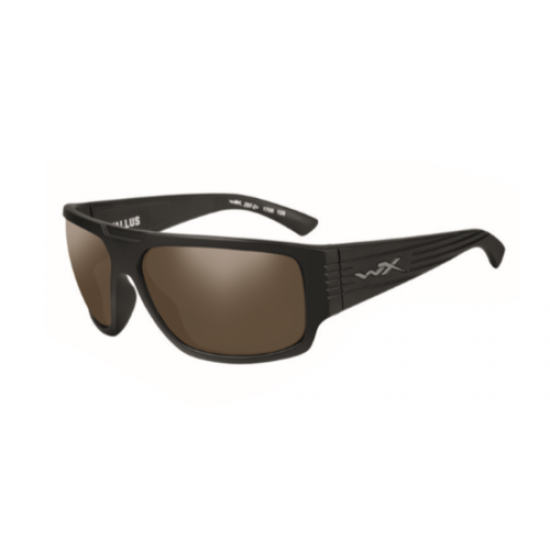 slnečné okuliare VALLUS POLARIZED Amber/Matte Black