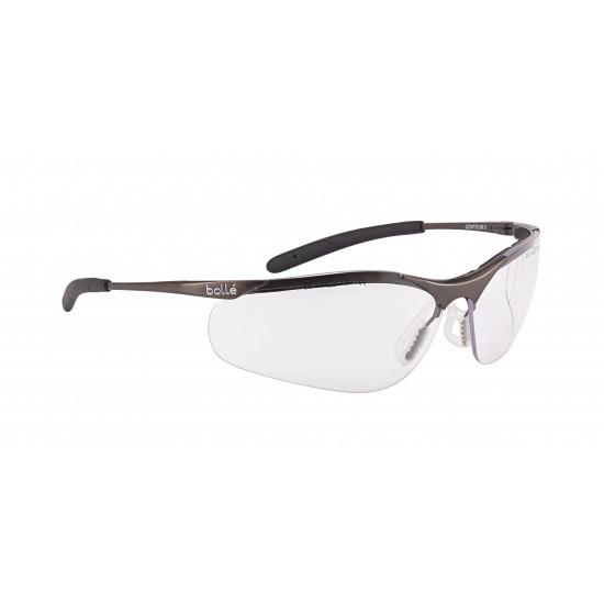 športové okuliare BOLLE CONTOUR metal číre