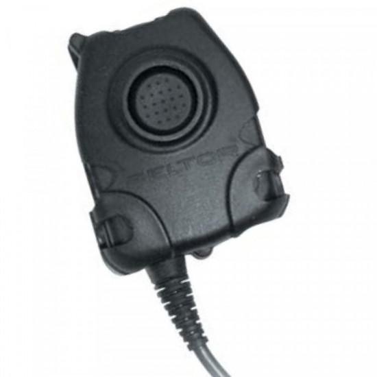 PTT adaptér pre ComTac hlavové systémy ochrany