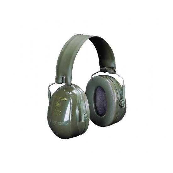 3M™ Peltor™ Mušlové chrániče Bull's Eye II, zelené, 31dB