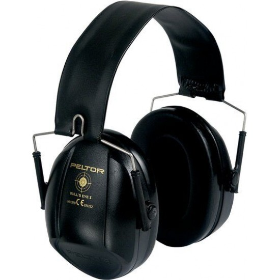 3M™ Peltor™ Mušlové chrániče Bull's Eye II, čierne, 31dB