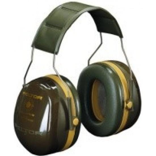 3M™ Peltor™ Mušlové chrániče Bull's Eye III, vojenská zelená, 35dB