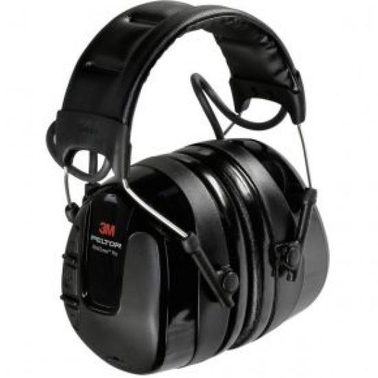 hlavová sada s mušlovými chrániči sluchu 3M Peltor WorkTunes Pro, 32 dB