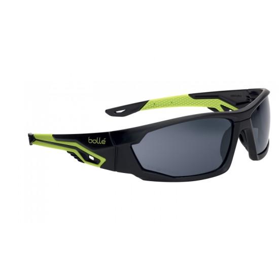športové okuliare MERCURO- green and black, tmavé zorníky