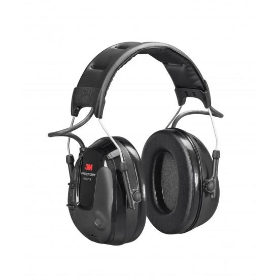 3M™ Peltor™ ProTac III Headset, hlavová páska, čierne