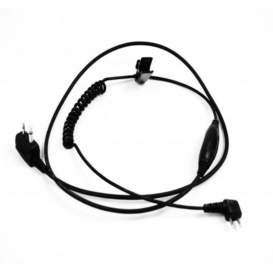 3M™ Peltor™ kábel s PTT & mikrofónom, J22, 1 set