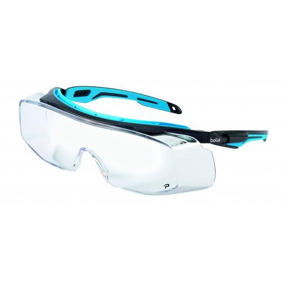 Bollé TRYON OTG pracovné okuliare PC, AS AF číre