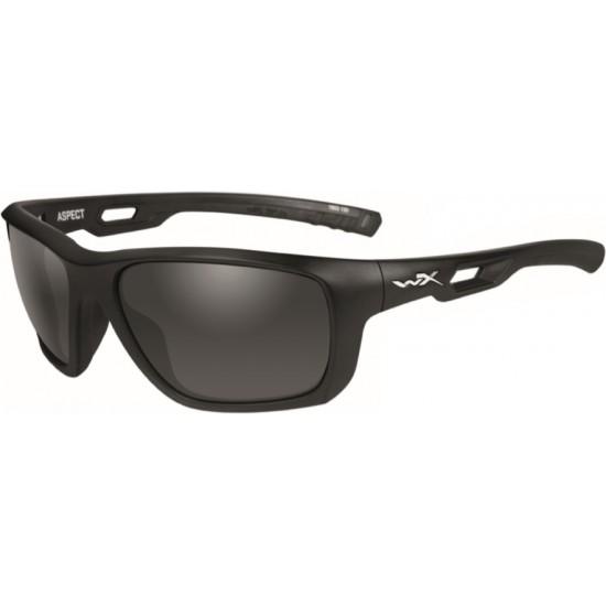slnečné okuliare ASPECT-Smoke grey/Matte black