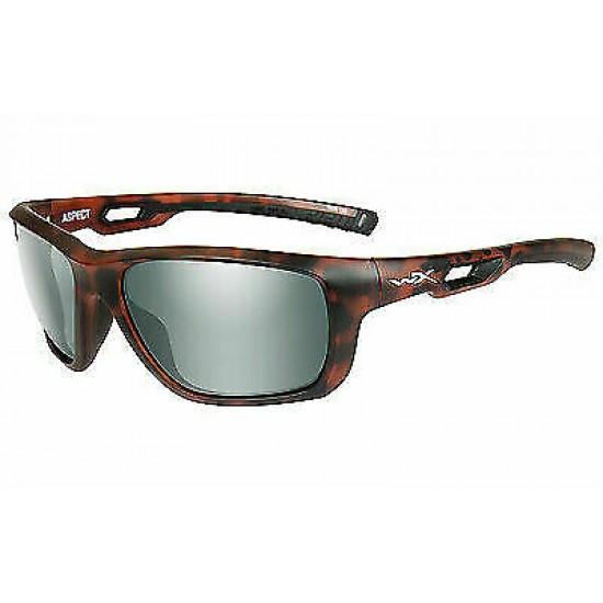 Slnečné okuliare ASPECT - POLARIZED Platinum Flash Smoke Green/Matte Demi