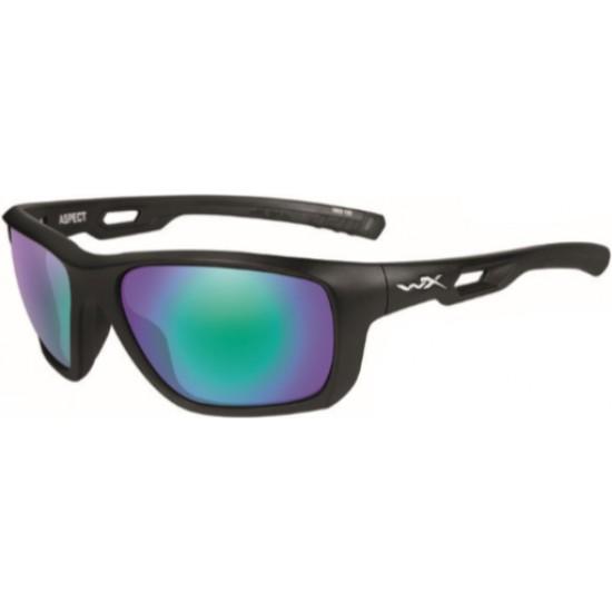 slnečné okuliare ASPECT- POLARIZED Emerald Mirror Amber/Matte Black