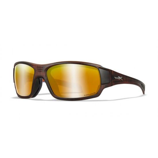 športové okuliare BREACH Captivate Polarized - Bronze Mirror - Copper/Matte Hickory Brown