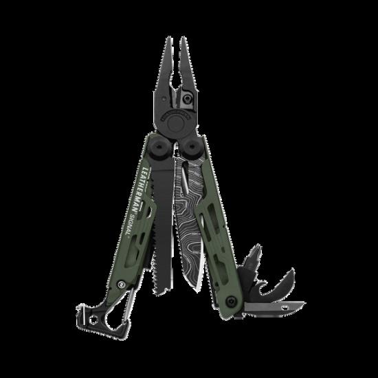 Multitool Leatherman SIGNAL GREEN TOPO