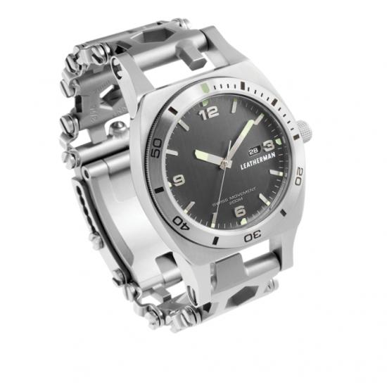 Multitool hodinky TREAD TEMPO SILVER
