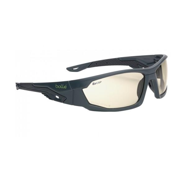 športové okuliare MERCURO- grey and black, bronzové zorníky