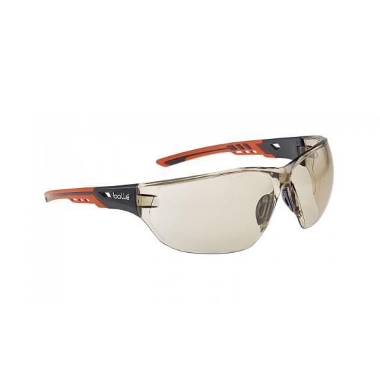 Pracovné okuliare NESS+ bronzové