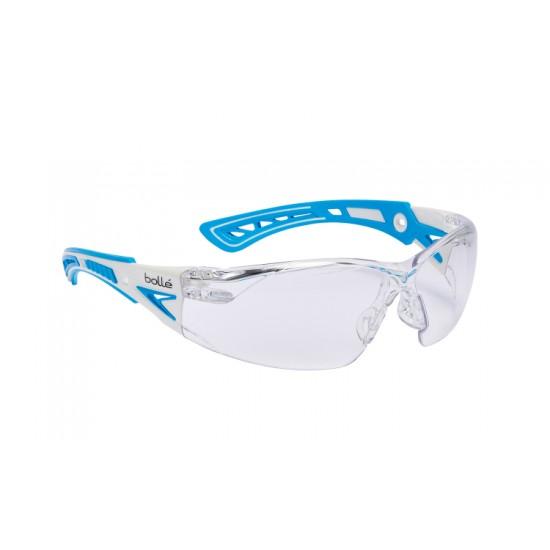 BOLLE RUSH+ pracovné okuliare číre rushpspsi veľkosť S