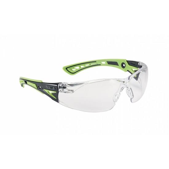 pracovné okuliare BOLLE RUSH+ číre rushppsig
