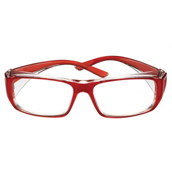 pracovné dioptrické okuliare Bolle B808 červené
