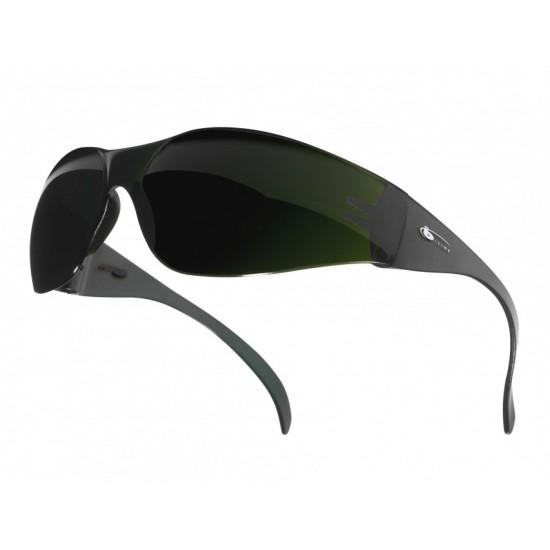 pracovné okuliare BOLLE B-LINE BL10 tmavo zelené