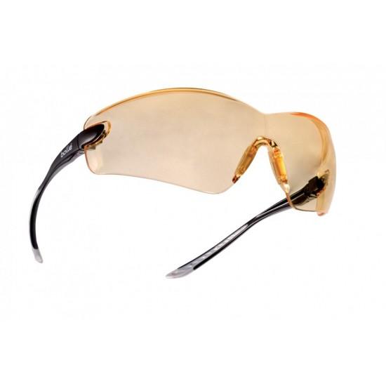 strelecké/ pracovné okuliare BOLLE COBRA žlté