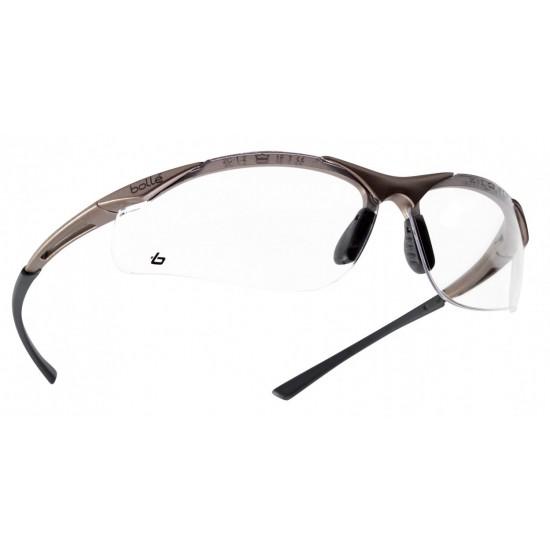 športové okuliare BOLLE CONTOUR číre