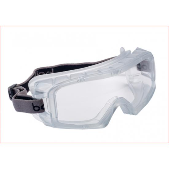 Ochranná maska BOLLE COVERALL maska ventilovaná čírá
