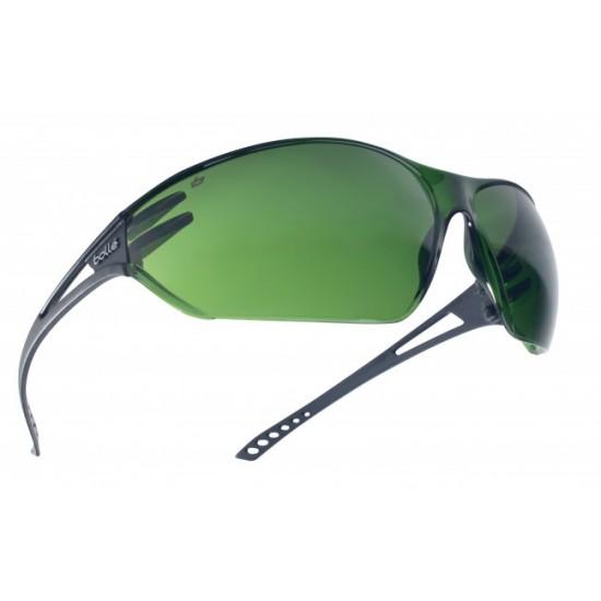 zváracie okuliare BOLLE SLAM stredne zelené