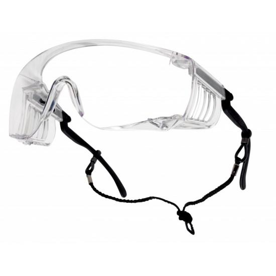 BOLLE SQUALE pracovné okuliare číre
