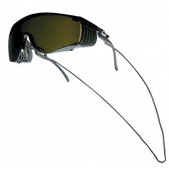 BOLLE SQUALE  pracovné okuliare tmavozelené