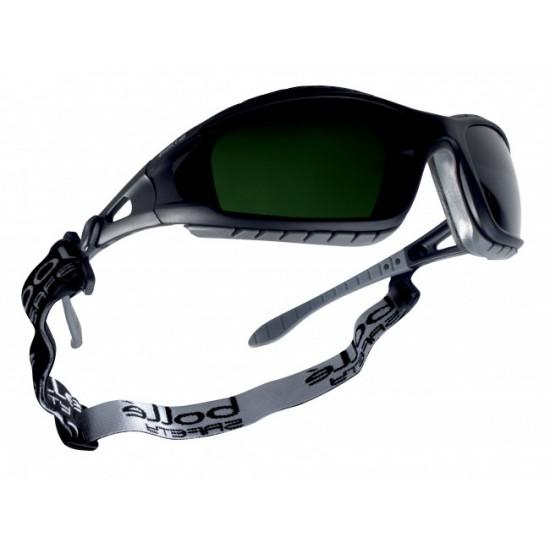 zváracie okuliare BOLLE TRACKER tmavozelené púzdro zdarma