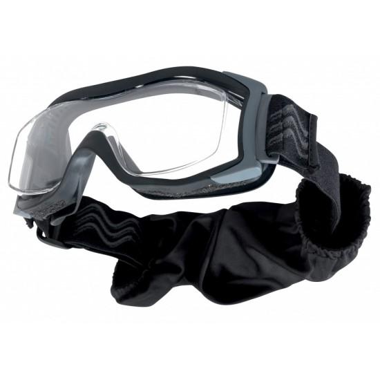 BOLLE X1000 RX DOUBLE LENS čierna taktická maska s možnosťou nasadenia na okuliare