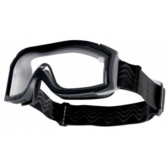 BOLLE X1000 DOUBLE LENS čierna taktická maska s dvojitou optikou