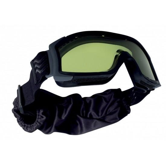 Taktická maska BOLLE X1000LASER Laser Y lens - black púzdro zdarma