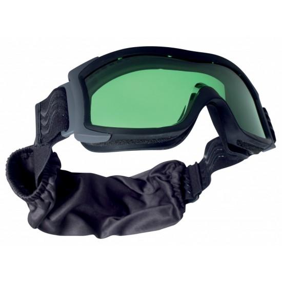 Taktická maska BOLLE X1000LASER Laser G šošovka čierna púzdro zdarma