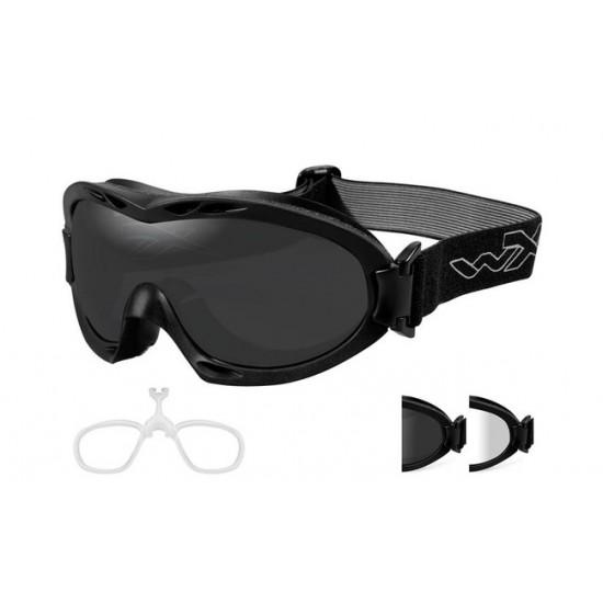 Taktická maska WILEY X NERVE - Smoke Grey + Clear