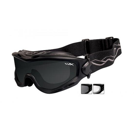 Taktická maska WILEY X SPEAR - Smoke Grey + Clear