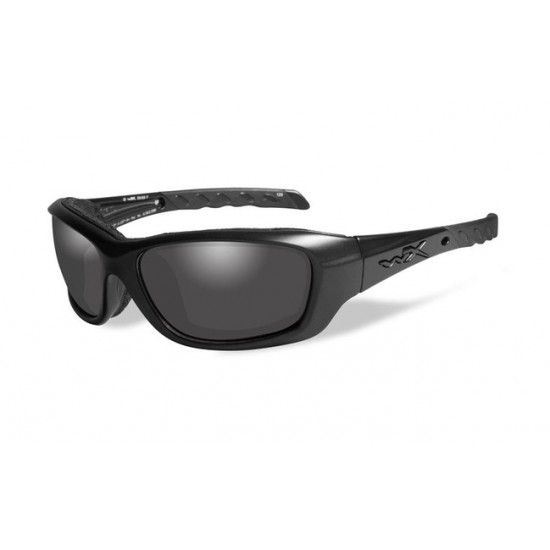 strelecké okuliare WILEY X GRAVITY Black Opps - Smoke Grey