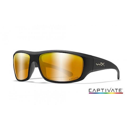 slnečné okuliare WILEY X OMEGA CAPTIVATE Bronze Mirror/ Matte Black Frame