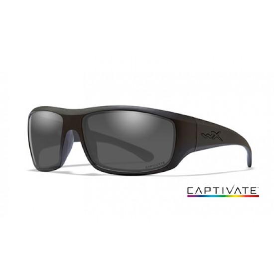 slnečné okuliare WILEY X OMEGA CAPTIVATE Smoke Grey/ Matte Black Frame