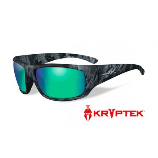 slnečné okuliare WILEY X OMEGA Polarized - Emerald Mirror Kryptek