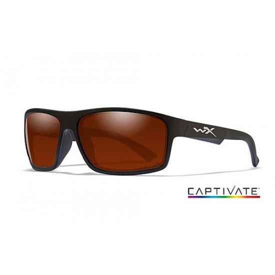 slnečné okuliare WILEY X PEAK CAPTIVATE Captivate Copper/ Matte Black Frame