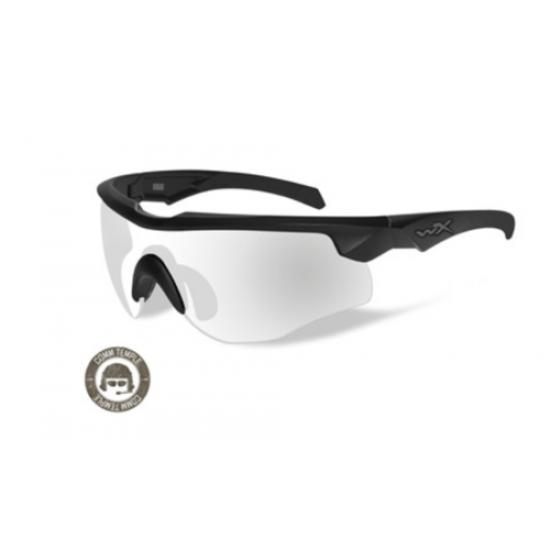 strelecké/ taktické okuliare s vymeniteľnými zorníkmi WILEY X ROGUE COMM Clear/ Matte Black frame