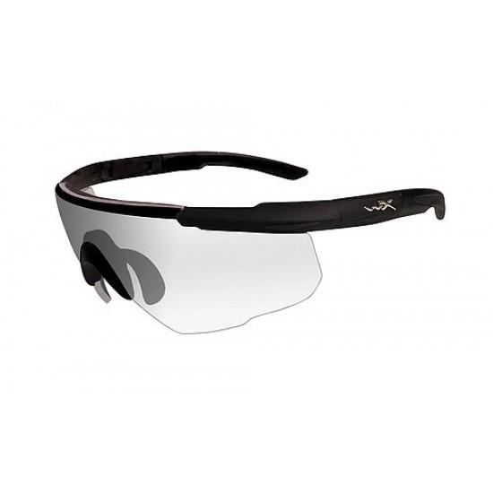 športové/ taktické okuliare s vymeniteľnými zorníkmi WILEY X SABER ADVANCED - Clear