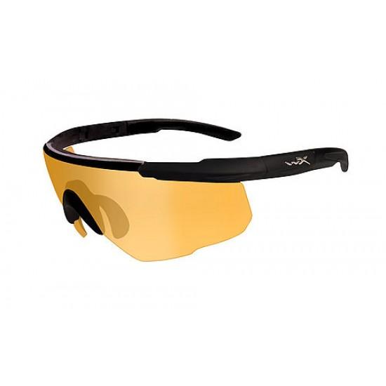 športové/ taktické okuliare s vymeniteľnými zorníkmi WILEY X SABER ADVANCED - Light Rust