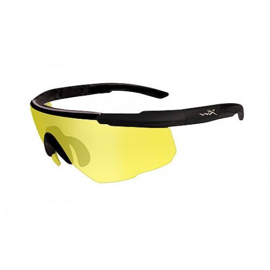 športové/ taktické okuliare s vymeniteľnými zorníkmi WILEY X SABER ADVANCED - Pale Yellow